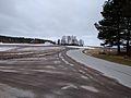 Fylkesvei 453 i krysset med fylkesvei 463.jpg