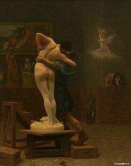 Gérôme, Pygmalion et Galatée, 1890