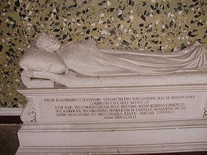Antoine Philippe, Duke of Montpensier - Effigy set up by Adélaïde d'Orléans (1777–1847) on the Domaine royal de Randan