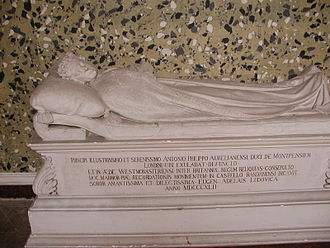 Antoine Philippe, Duke of Montpensier - Effigy set up by Adélaïde d'Orléans (1777–1847) on the Domaine royal de Randan