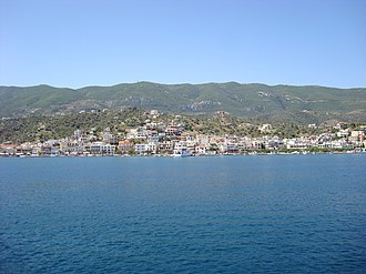 Galatas, Troizina - View of Galatas from Poros
