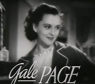 Lenore Coffee - Image: Gale Page in Four Daughters trailer