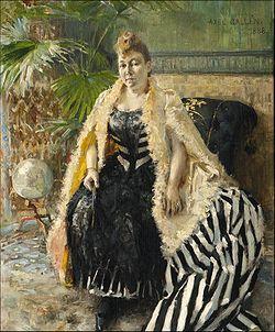 GALLEN-KALLELA, Akseli Parisienne, 1888