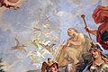 Galleria di luca giordano, 1682-85, Minerva protettrice delle Arti e delle Scienze 02 orfeo e uccelli.JPG