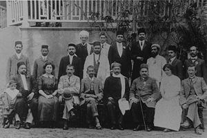 Gopal Krishna Gokhale - Gokhale and Gandhi in Durban, South Africa, 1912