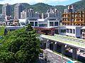 Gangqian Station View from Taipei Public Library Xihu Branch 20090926.jpg