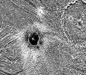 El (crater) - Image: Ganymede Khensu PIA01090