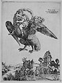 Ganymede as a young boy riding a large eagle (Zeus) in flight above a landscape MET MM7885.jpg