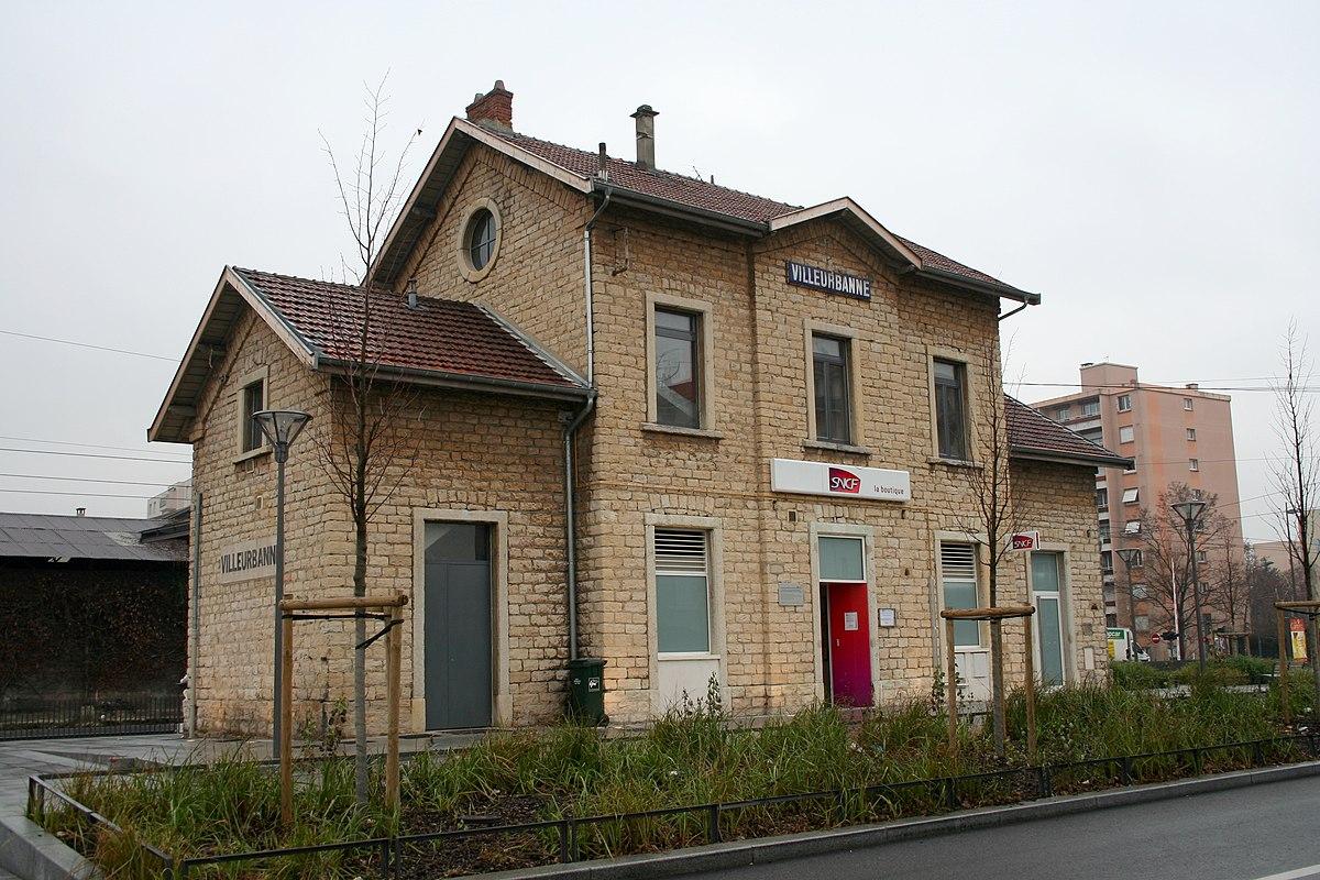 Gare de villeurbanne wikip dia for Garage du tram villeurbanne