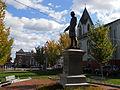 Garrison statue Brown Square Newburyport Oct 2012 side.JPG