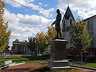 Garrison statue Brown Square Newburyport Oct 2012 side.JPG