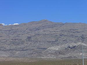 Gass Peak - Image: Gass Peak Nevada