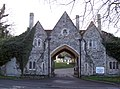 Gatehouse entrance into cemetery - geograph.org.uk - 338276.jpg