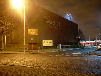 Gateshead International Stadium - Image: Gateshead Stadium geograph 1116309