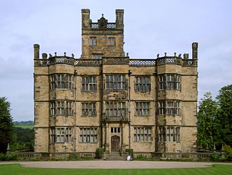 Gawthorpe Hall - Gawthorpe Hall from the front
