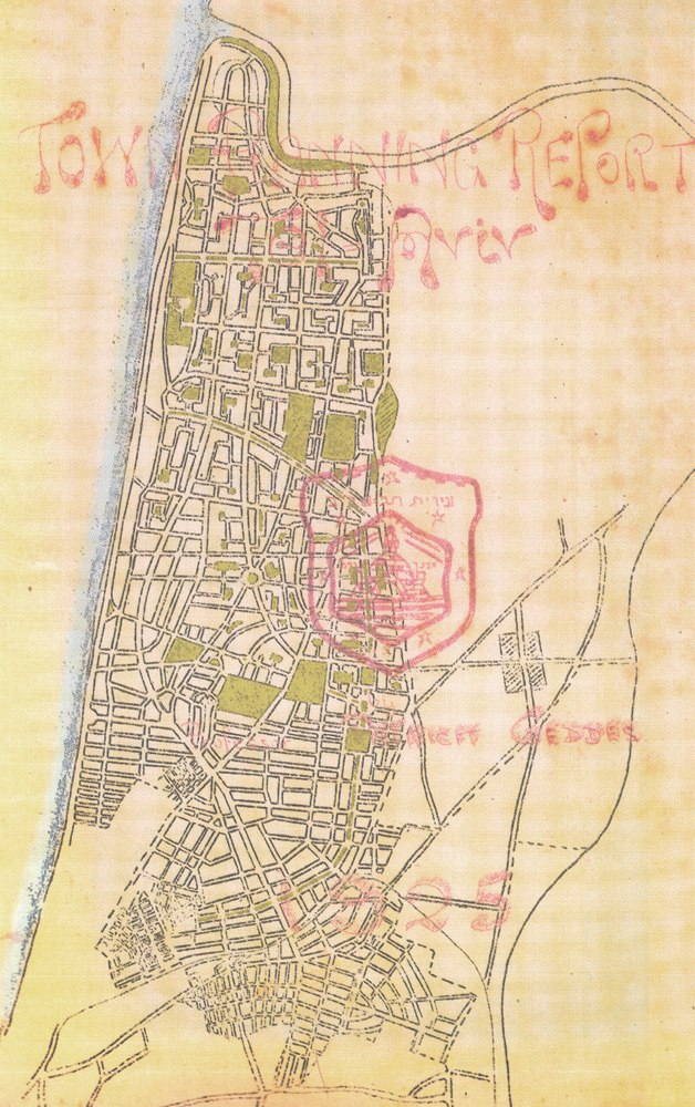 Geddes Plan for Tel Aviv 1925