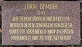 Gedenktafel Dorotheenstr 14 (Köpe) Köpenicker Blutwoche2.jpg
