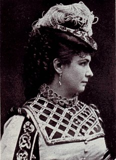 Marie Geistinger Austrian actress and operatic soprano