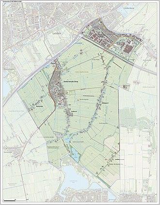 Zoeterwoude - Image: Gem Zoeterwoude Open Topo