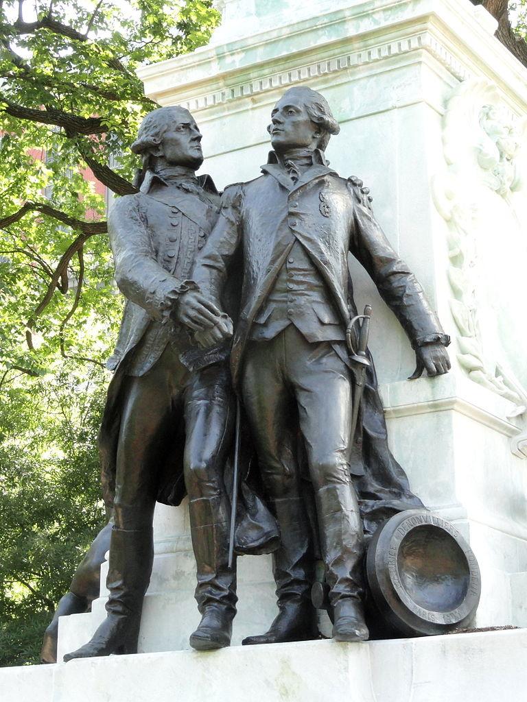 File:General Lafayette Statue (Washington, D.C ...