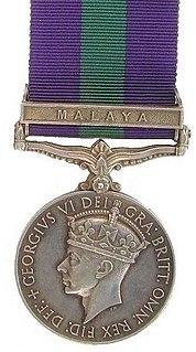 General Service Medal (1918) Award