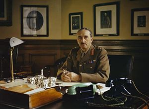 Alan Brooke, 1st Viscount Alanbrooke - Image: General Sir Alan Brooke, Chief of General Staff, 1942 TR153