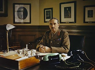 Alan Brooke, 1st Viscount Alanbrooke - Image: General Sir Alan Brooke, Chief of General Staff, 1942 TR153