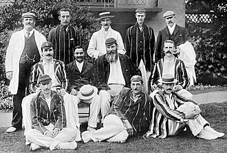 Gentlemen v Players - Gentlemen, captained by W. G. Grace, versus Players at Lord's, 1899