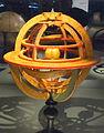 Geocentric armillary sphere, Charles Francois Delamarche, Paris, c. 1800 - Mathematisch-Physikalischer Salon, Dresden - DSC07985.JPG