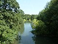 Geograph 2538509 Downstream on the River Rother at Rotherbridge.jpg