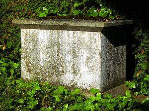 Georg Dehio - Grave of Georg Dehio in Tübingen.