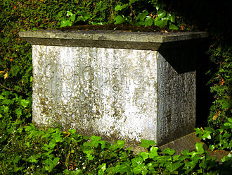 Georg Dehio - Grave of Georg Dehio in Tübingen.