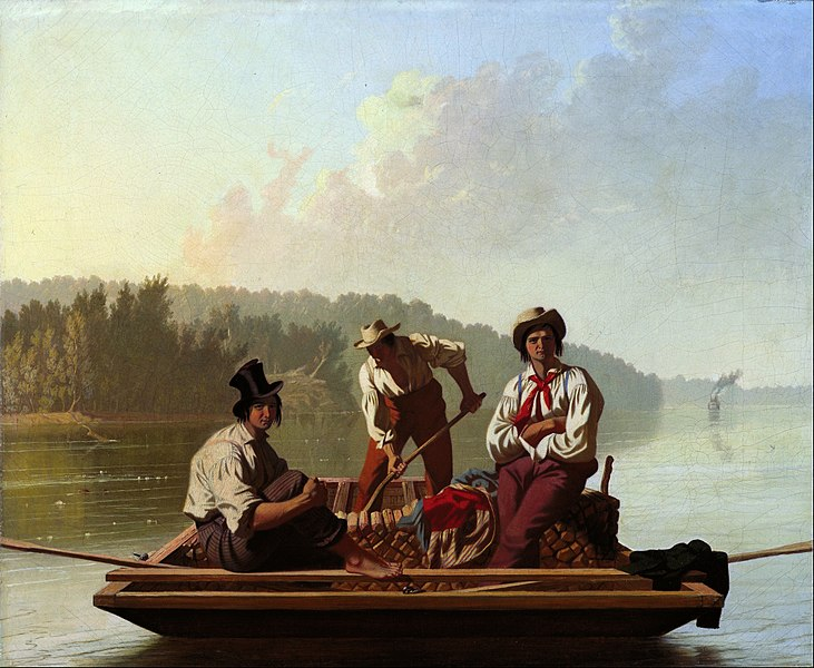 File:George Caleb Bingham - Boatmen on the Missouri - Google Art Project.jpg