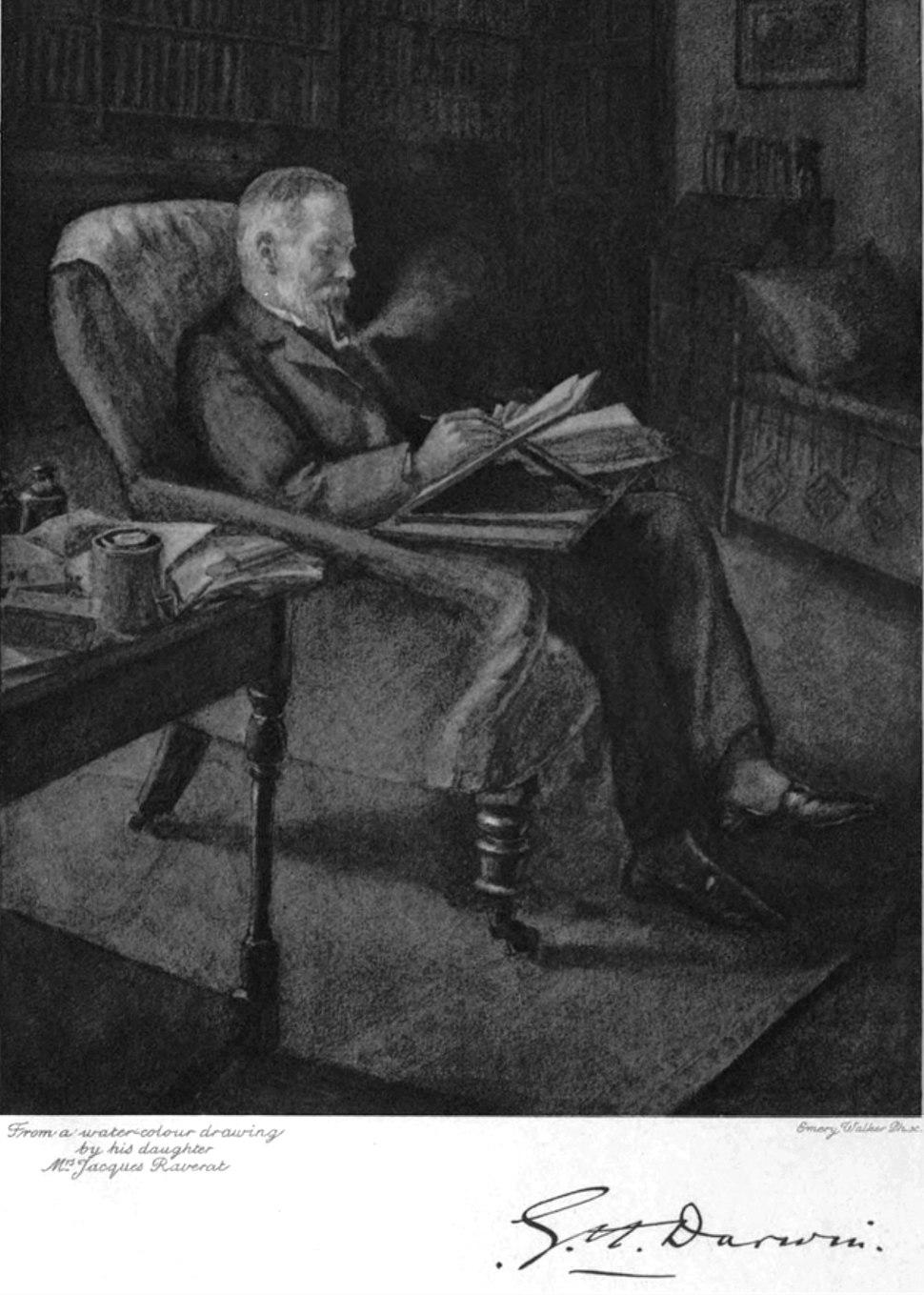 George Darwin ca1908