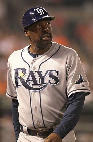 George Hendrick - Hendrick as a coach for the Tampa Bay Rays
