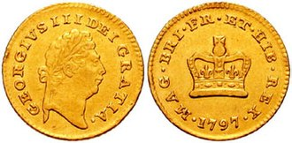 Third guinea (British coin) - Third guinea coin of George III