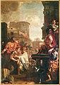 Gerard de Lairesse, The Clemency of Lucius Papirius Cursor, 1688, The Hague, Binnenhof.jpg