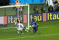 Germany and Argentina face off in the final of the World Cup 2014 -2014-07-13 (34).jpg