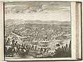 Gezicht op Isfahan, 1726 Ispahan, Capitale du Royaume de Perse (titel op object) Les Forces de l'Europe, Asie, Afrique et Amerique Comme aussi les Cartes des Côtes de France et d'Espagne (serietitel, RP-P-OB-83.036-230.jpg