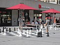 Giant chess set Montreal Wikimania 2017.jpg