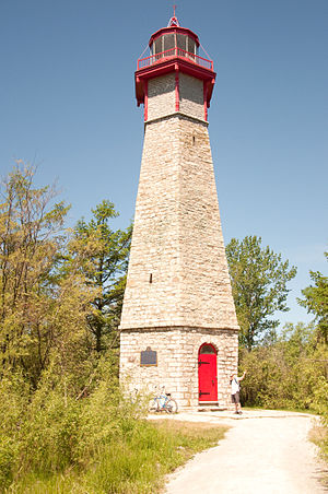 Gibraltar Point Lighthouse on the Toronto Islands