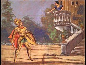 Giuseppe de Begnis - Scene from Mayr's Ginevra di Scozia