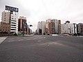 Ginza Capital Hotels from Irifune-bashi Crossing 2014.jpg