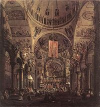 Giovanni Antonio Canal, il Canaletto - San Marco - the Interior - WGA03959.jpg