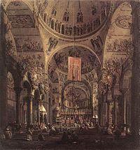 Giovanni Antonio Canal, il Canaletto - San Marco - the Interior - WGA03959.jpg