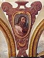 Giovanni da san giovanni, Cristo servito dagli angeli, Sant'Agostino, San Bartolomeo, 1629, 03.JPG