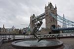 Girl with a Dolphin Fountain, London.jpg