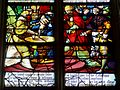 Gisors (27), collégiale St-Gervais-et-St-Protais, collatéral sud, verrière n° 26 - vie de saint Claude 4.jpg
