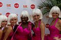 Glamourous women doing a promotion of some sorts at TIFF 2011 -c.jpg