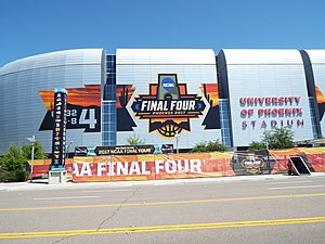 2017 NCAA Division I Men's Basketball Tournament - University of Phoenix Stadium, the site of the 2017 Final Four